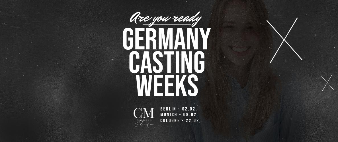 Model Castings im Februar 2019: Berlin, München und Köln - Model werden!