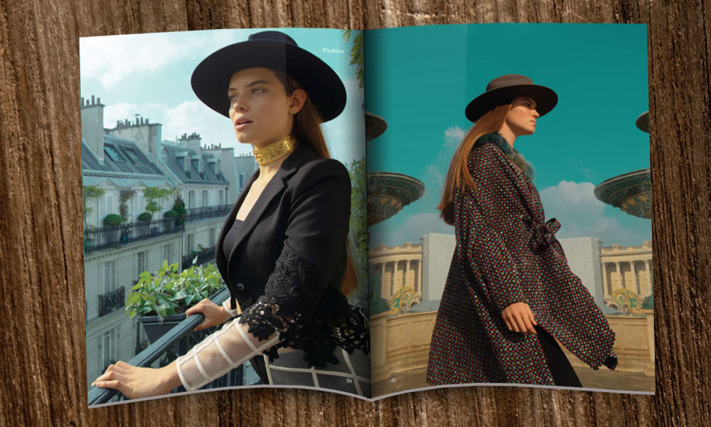 Luisa x LANA Magazine in Paris: Der Frühling kommt!